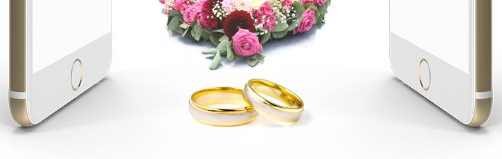 韓国では結婚式の招待状もモバイルです