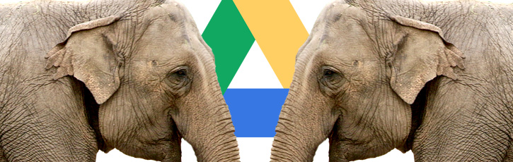 Googleドライブに謎の動物アイコンがあらわれた!?