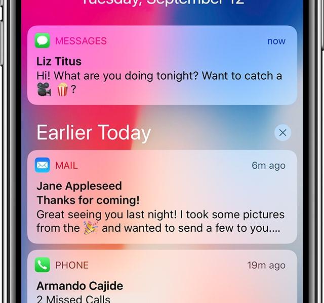 刷新!iPhone X の操作方法の解説。ホームボタン機能を指先で。