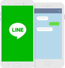 mobile版 LINE