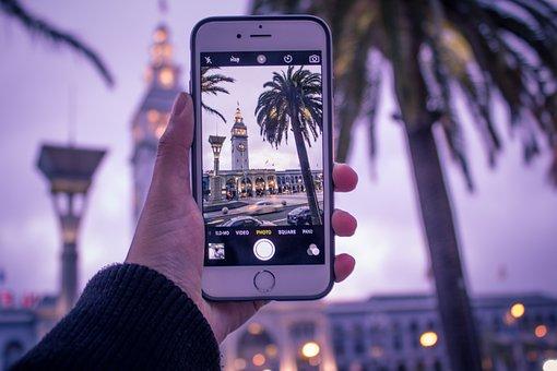 iPhoneで撮影