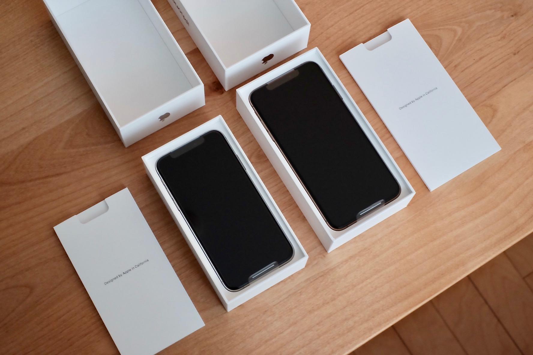 iPhone XSの内容物