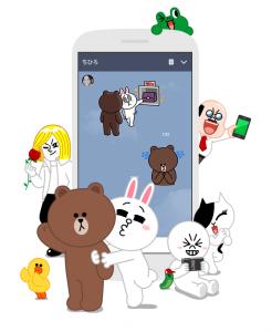 LINEのキャラクター画像