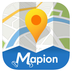 マピオンのアプリ