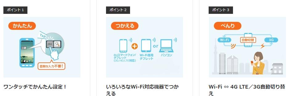 au Wi-Fi SPOT使い方ガイド|利用条件・設定方法・対応エリアとは