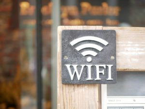 WiFiの表示