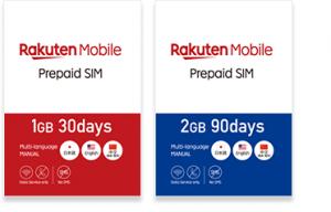 Rakuten Mobile Prepaid SIM