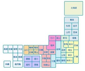 BIGLOBE WiMAX Map