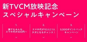 SNS使い放題 新・月300円キャンペーン