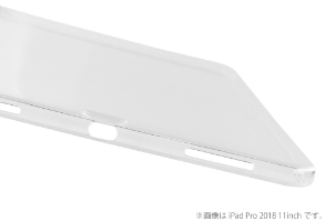 MS Solutions iPad Pro 2018 11inch クリアケース「剛柔」 CLEAR SOFT