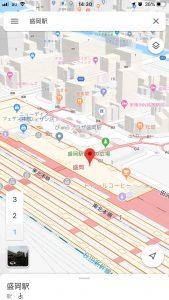 盛岡周辺地図