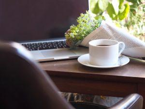 Wi-Fiスポットのあるカフェについての画像