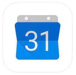 Google カレンダー」をApp Storeで