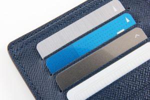 ポイントカードと財布