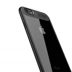 Amazon.co.jp: iPhone6s ケース iPhone6 ケース LAYJOY アイフォン6s/6カバー バンパー 透明 ハード PC +ソフト ブラック TPU [軽量 耐衝撃 傷防止 落下防止 レンズ保護] iPhone 6s/6用 スマホケース (クリア): カメラ