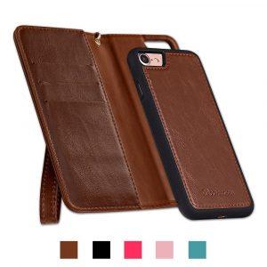 Doormoon PUレザーiPhone 7手帳型ケース