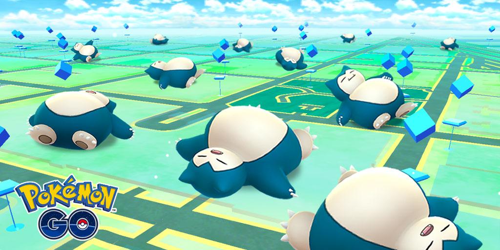 ポケモンGO|最新イベント情報!寝ているカビゴン多数出没中!【2019年5月】