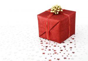 プレゼントがもらえる