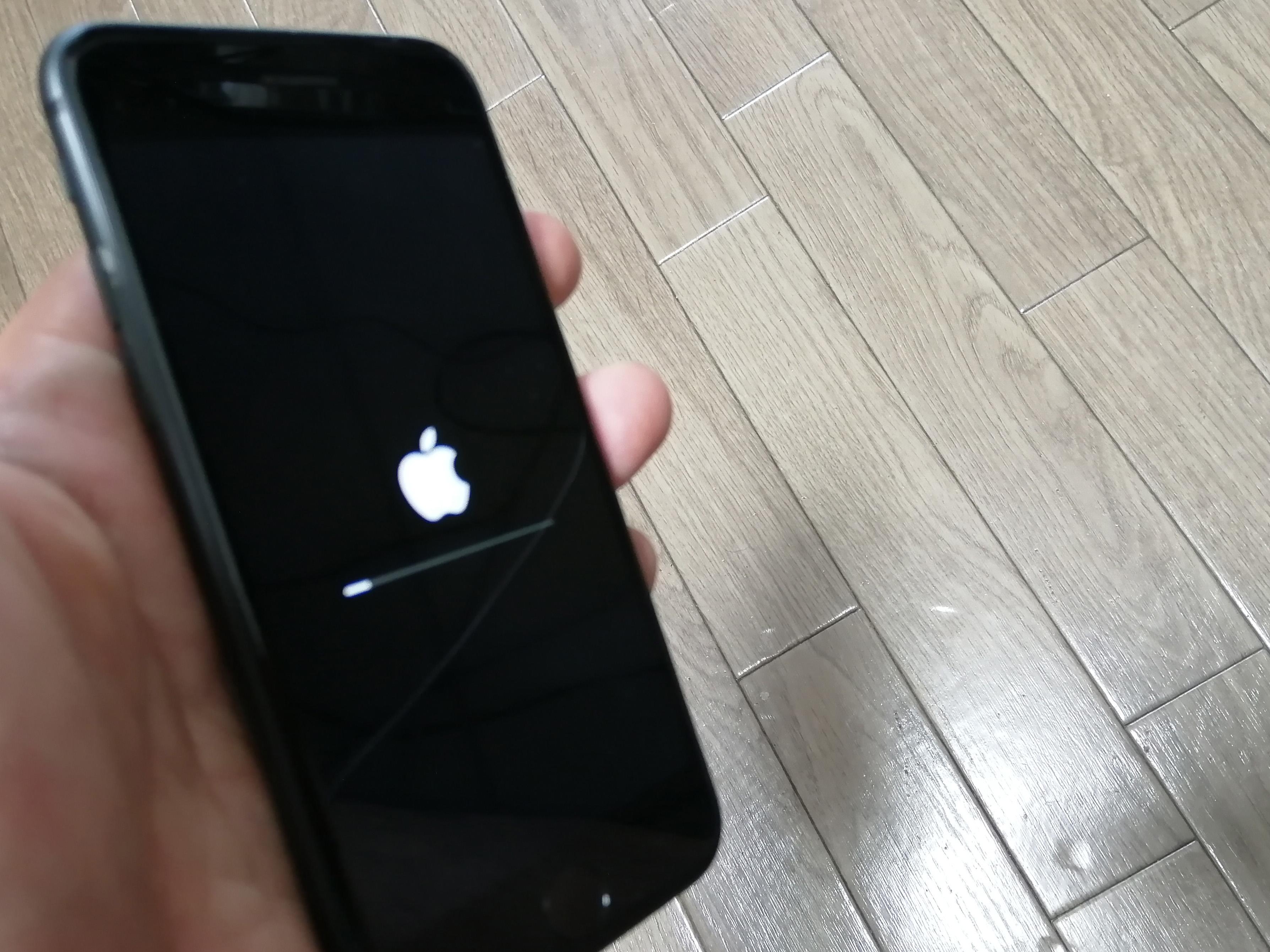 iPhoneを再起動する