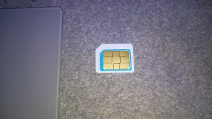 DOLLY SIM カードアダプター D01SIMADWH