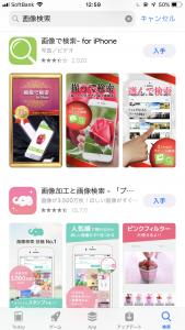 画像検索アプリ