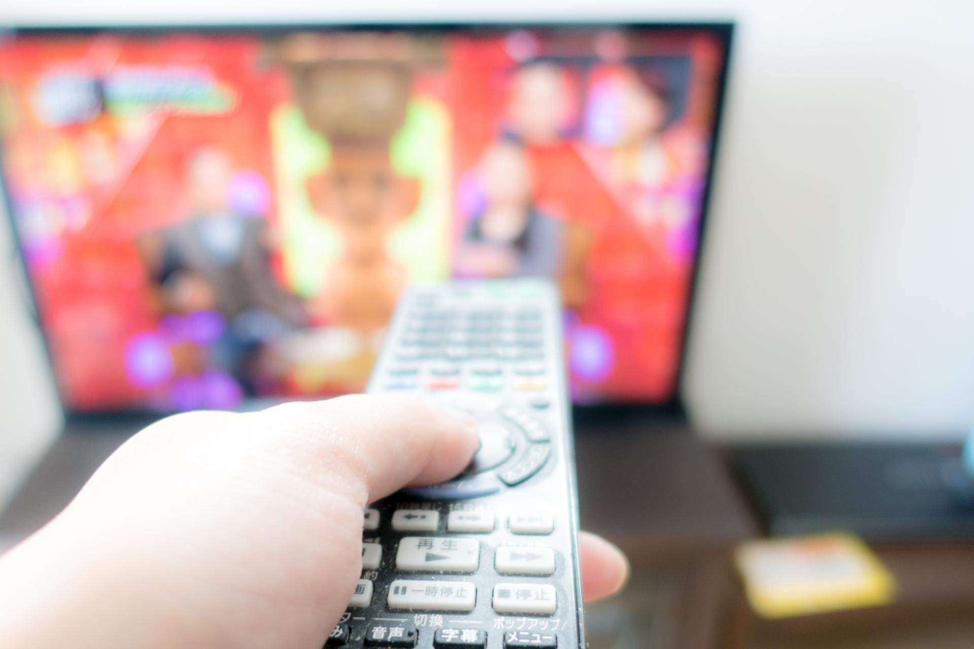 大画面の液晶テレビ