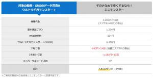 おとくケータイ.net(料金プラン)