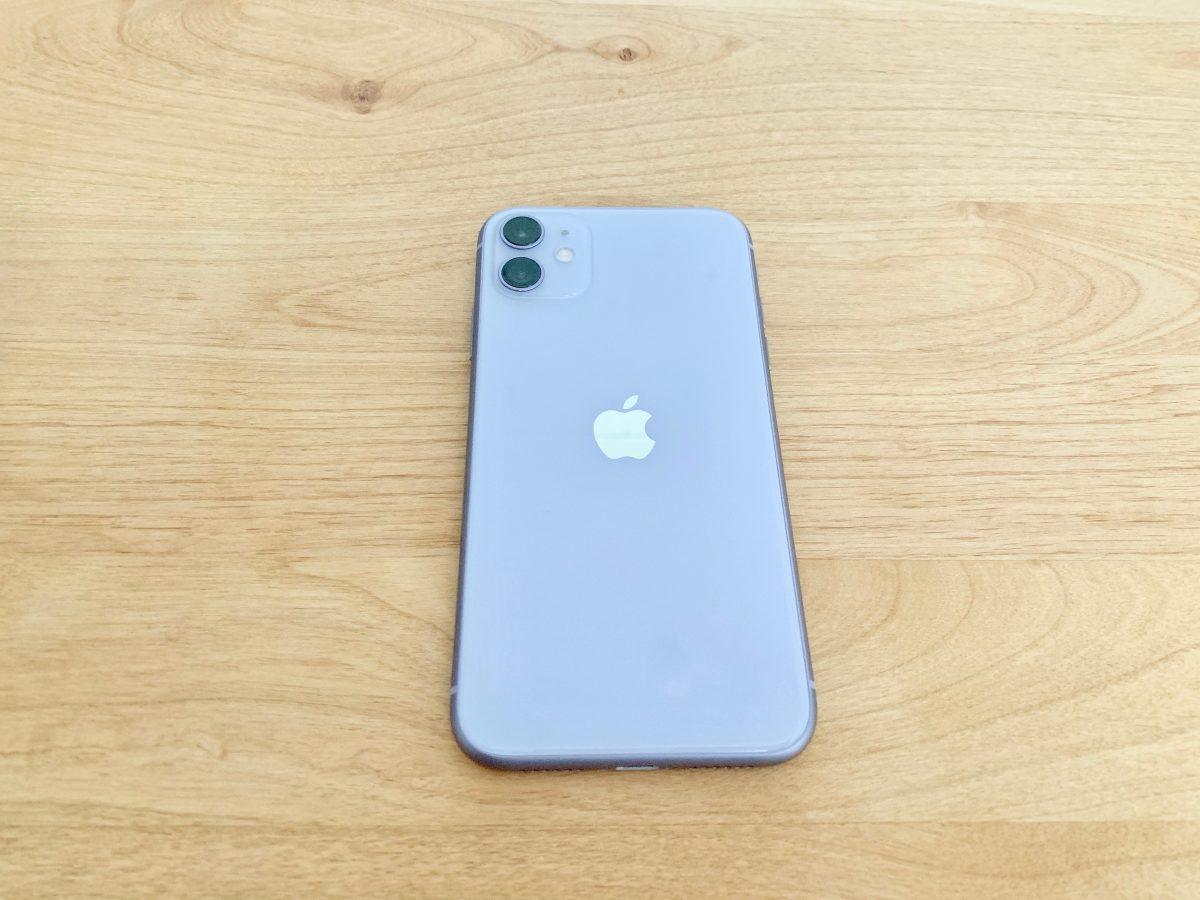 iPhone11裏面