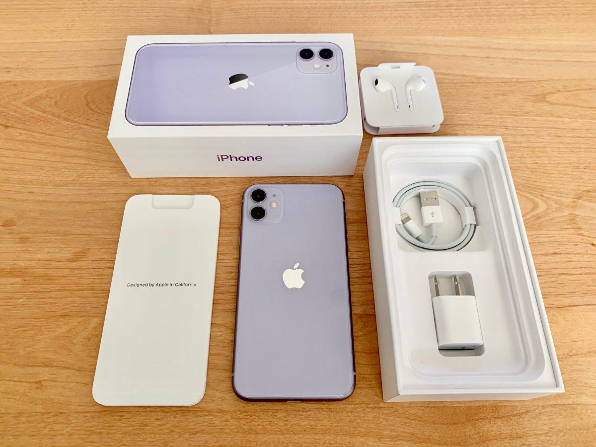 iPhone11付属品