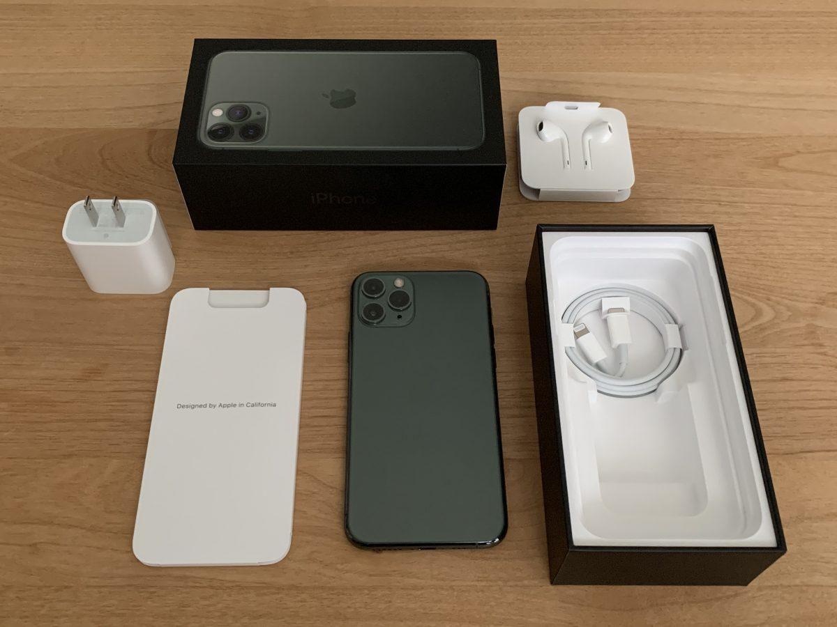 iPhone11Pro付属品