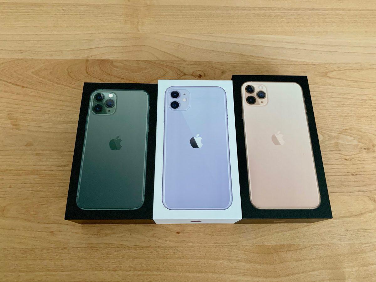 iPhone11シリーズ箱