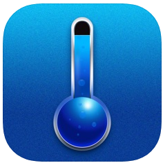温度計アプリの真の温度計