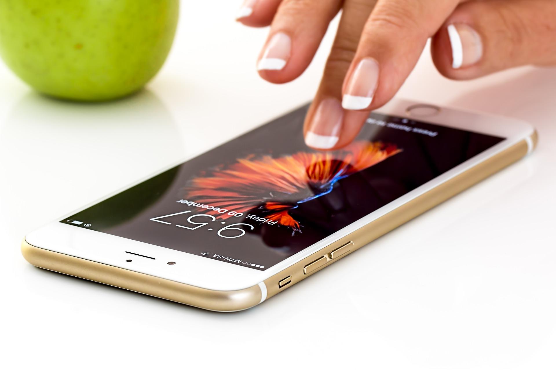 iphoneを操作する