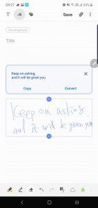 Galaxy Note 10+ Samsung Memo