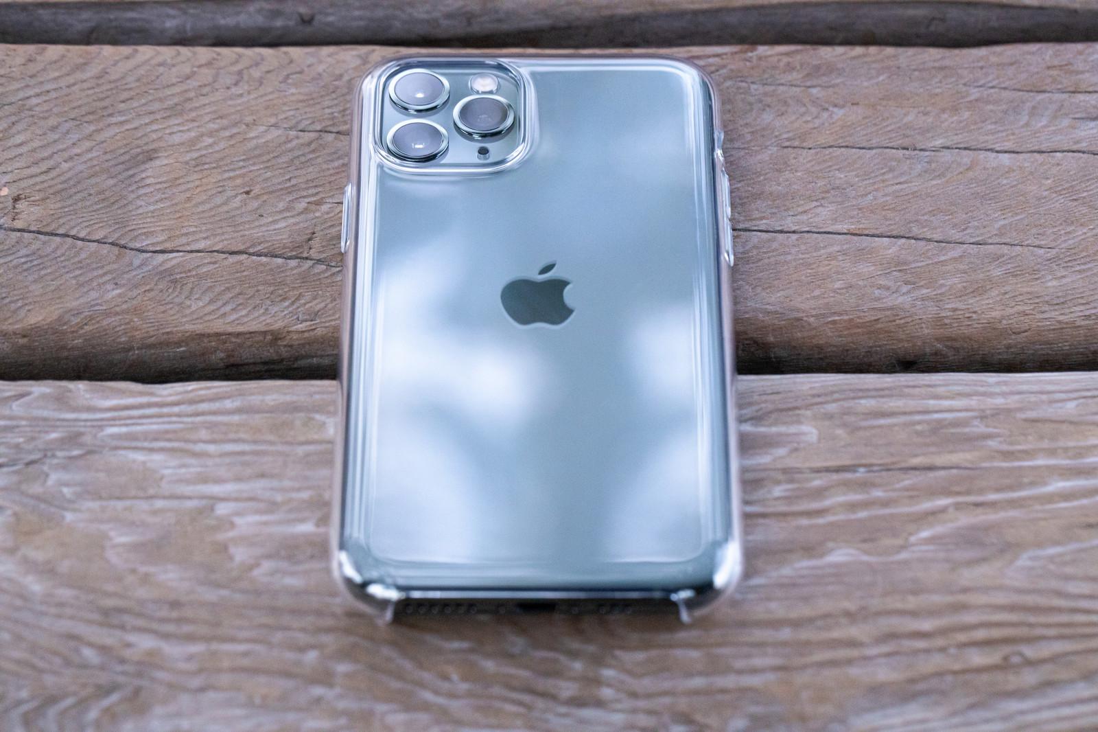 iPhoneのクリアケース