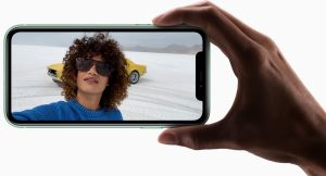 iPhone11 インカメラ