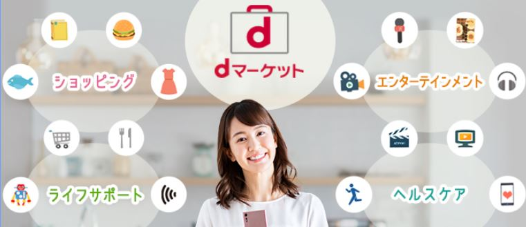 ドコモユーザーは加入必須!?d系サービス一覧とおすすめ5選