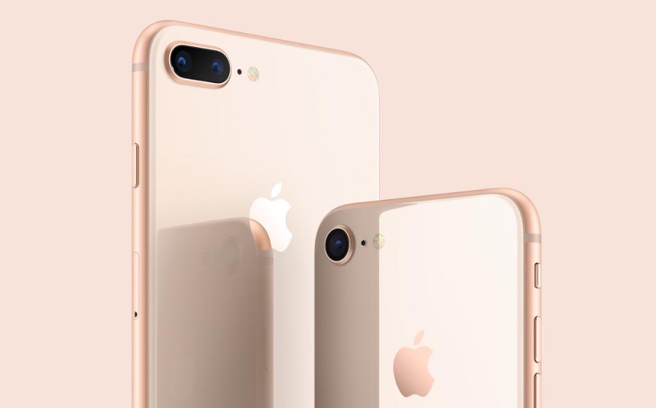 iPhone 8背面部
