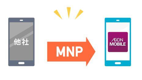 イオンモバイルへMNP