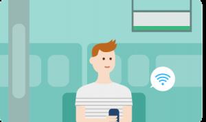 LINEモバイル WiFiオプション
