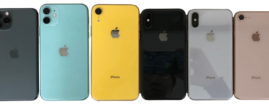 iPhoneサイズ一覧|一緒の大きさならスマホケースも同じのが使えるか