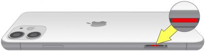 iPhone 11水濡れ確認