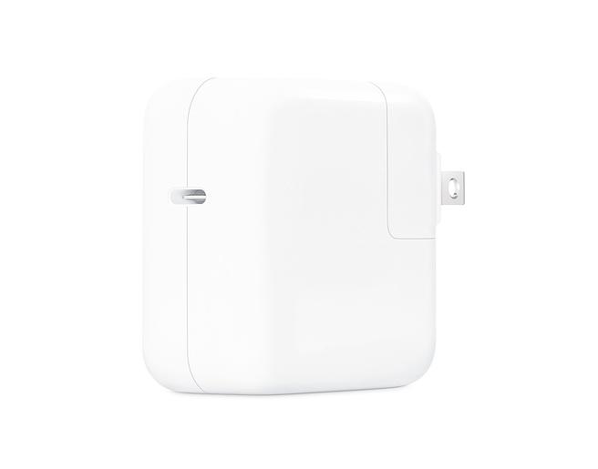 30W-USB-C電源アダプタの製品画像
