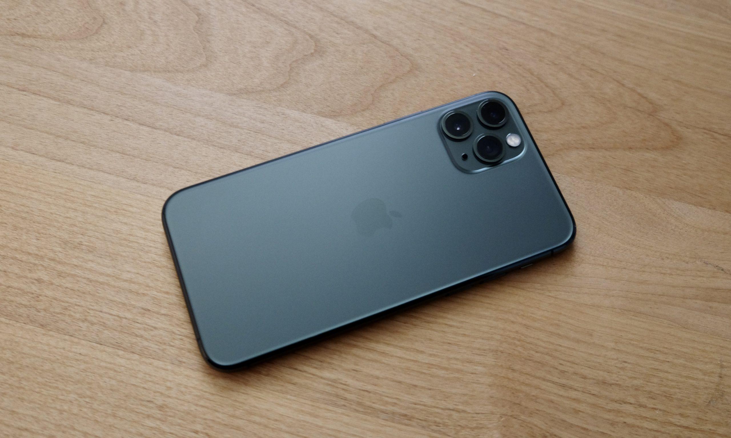 iPhone 11-Pro-ミッドナイトグリーン