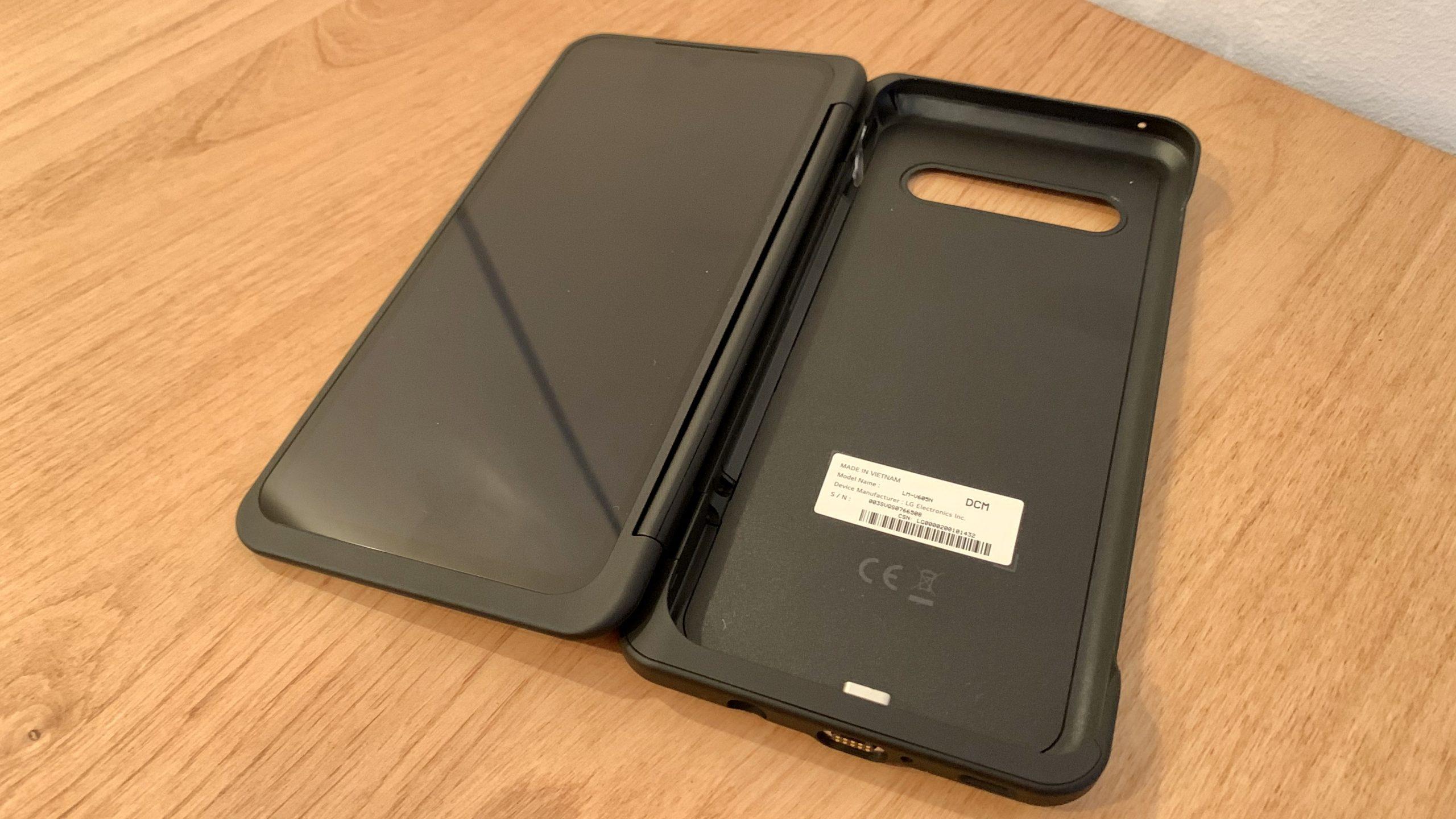 LG V60 ThinQ 5G デュアルスクリーン