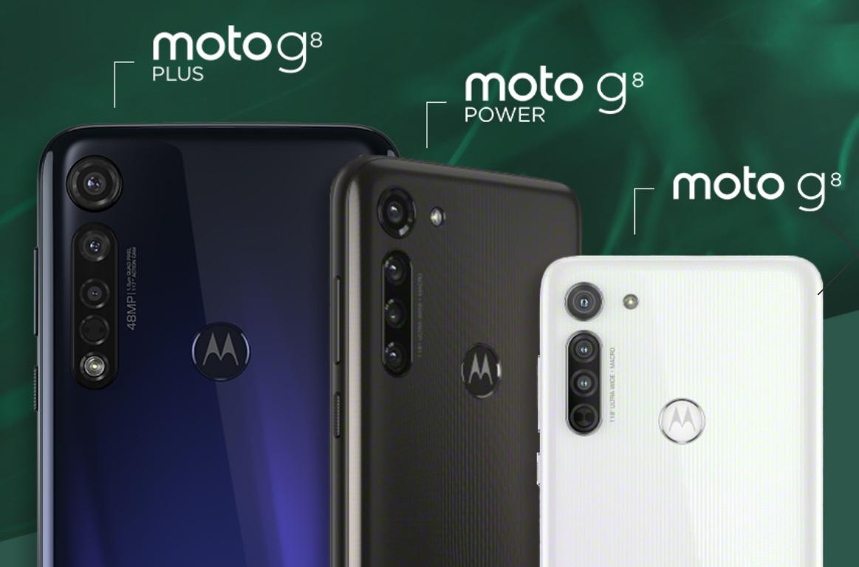 Moto G8シリーズの背面部