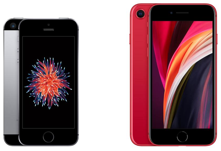 iPhone SE 新旧