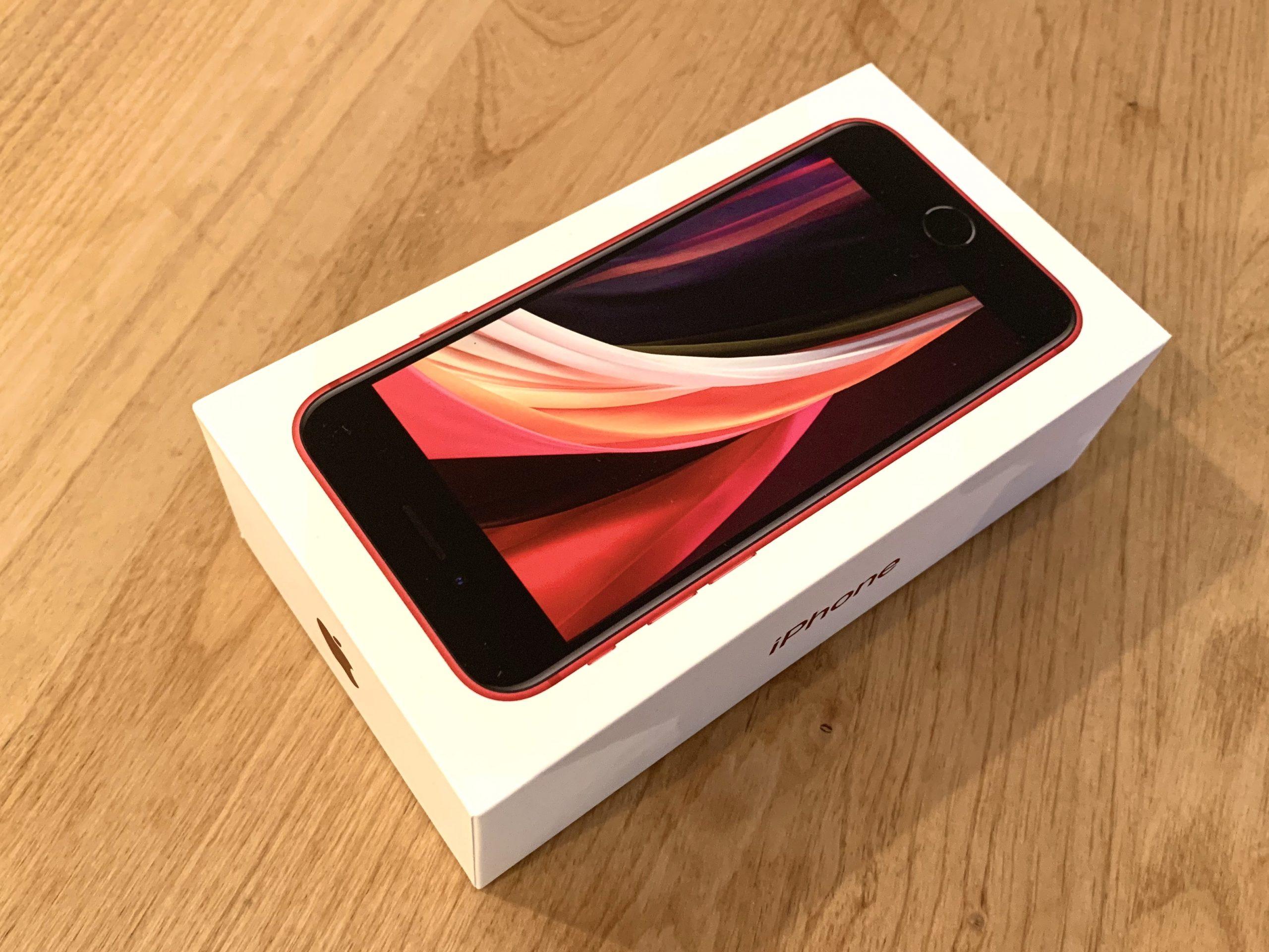 iPhoneSE2 外箱