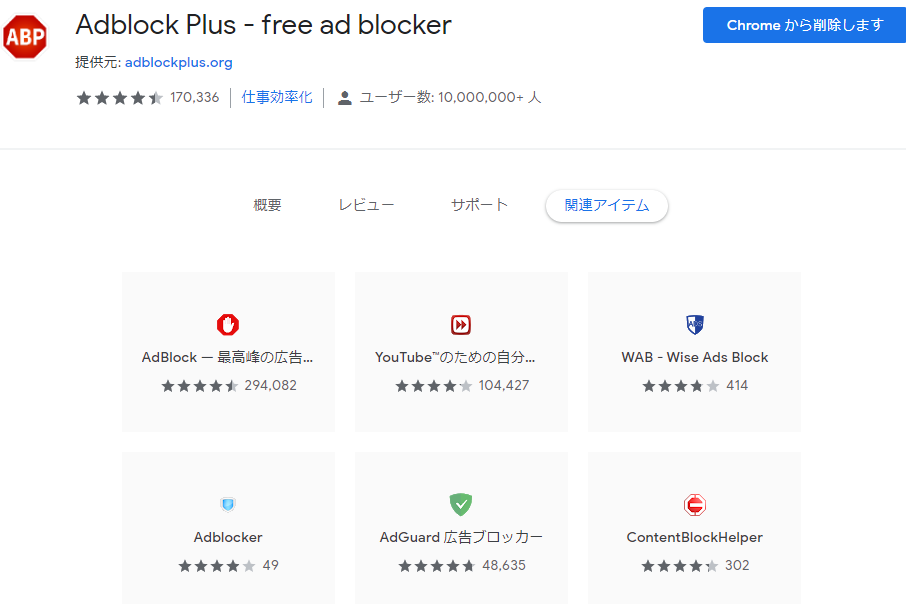Adblock Plus chrome4