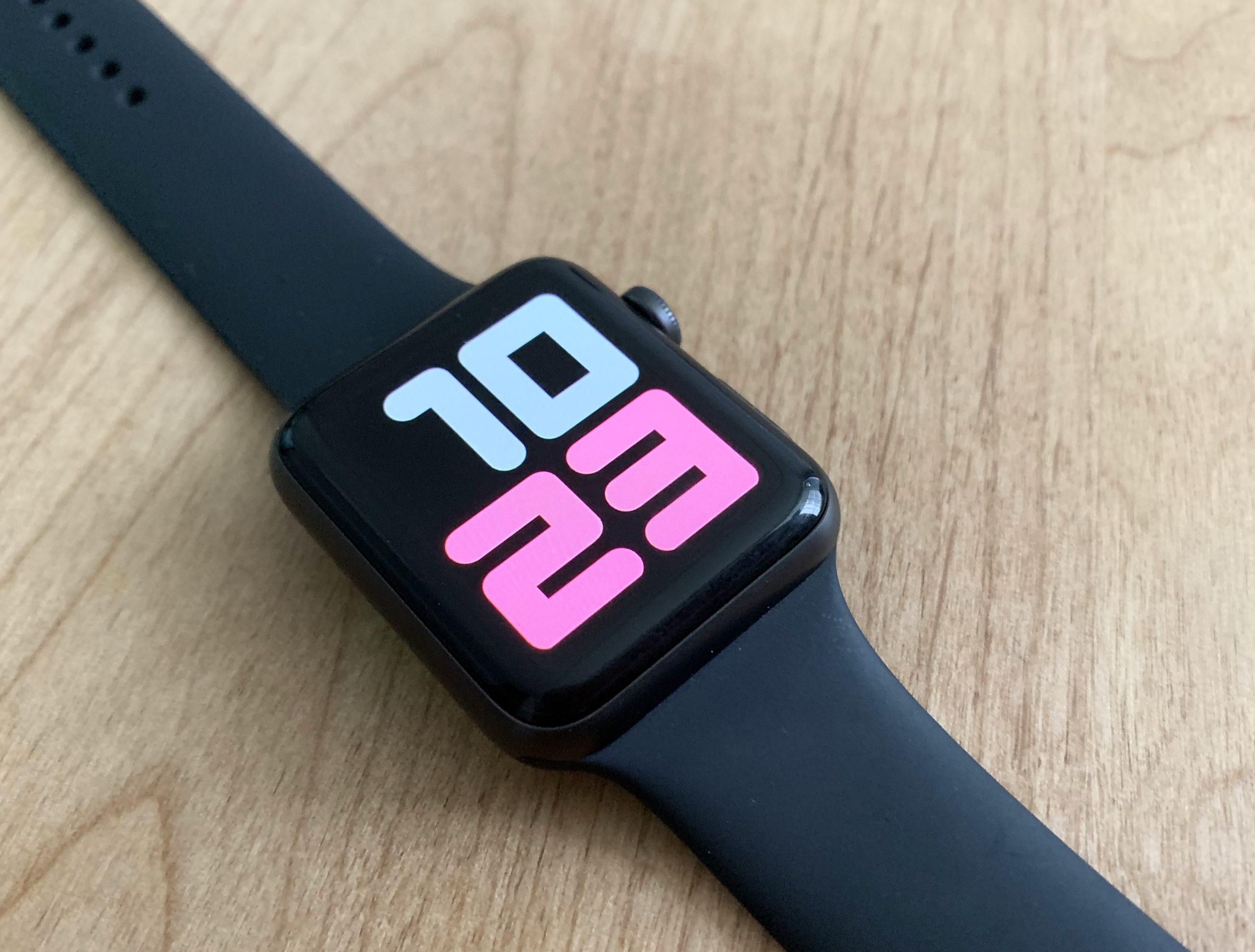 Apple Watch耐水性能